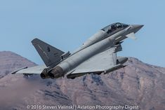 https://flic.kr/p/FUPG88 | Eurofighter TF-2000A | 4-33  M.M.55130  4º Stormo Amedeo d'Aosta (4th Wing)  Aeronautica Militare (Italian Air Force)  Red Flag 16-2  Nellis AFB, NV USA  For our complete coverage of Red Flag 16-2 visit:  AVIATION PHOTOGRAPHY DIGEST  Be sure to sign up for our FREE newsletter and we will notify you when new articles are published.