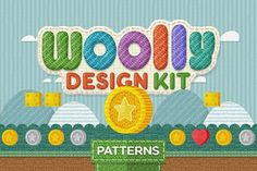 Woolly Design Kit - 65 Textures by Creativenauts on @creativemarket