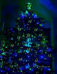 Seahawks Christmas Tree.26 Best Seahawks Christmas Tree Ideas Images Christmas