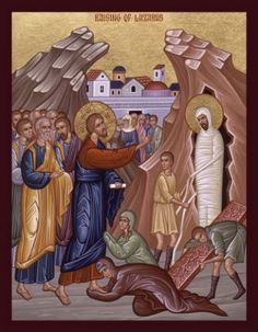 """Lazarus Saturday; Orthodox Christian Observance; April 27, 2013; Orthodox Christian celebration of the resurrection of Lazarus by Jesus, celebrated on the eve of Palm Sunday; revealing that Jesus in """"the resurrection and life"""" of all mankind."""