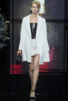 Armani Privé Fall 2014 Couture Fashion Show - Daria Strokous (Women)