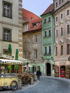 Down Town, Prague, Czech Republic . Oh The Places You'll Go, Places To Travel, Places To Visit, Restaurant Prague, Wonderful Places, Beautiful Places, Prague Travel, Prague Czech Republic, Eastern Europe