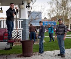 Volunteers from the Broken Bow Chamber of Commerce took part in a city wide clean up.  They cleaned all public areas, in addition to providing roll-off containers to residents to help dispose of trash and hazardous materials.
