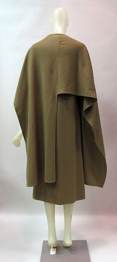 Coat c.a. 1976,  Medium: wool
