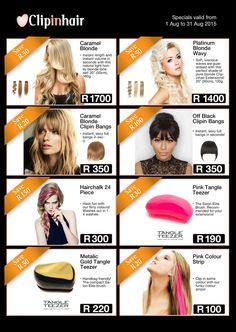 Clipinhair Black And Blonde, Price Comparison, Off Black, Platinum Blonde, Bangs, Pure Products, Health, Eyes, Long Platinum Blonde
