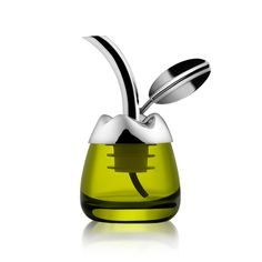Alessi presents Fior d'olio, MSA32, Olive oil taster with pourer, the exclusive design. Discover the entire collection of Alessi products online.