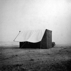 Irving Penn   Tent in Nepal   1967