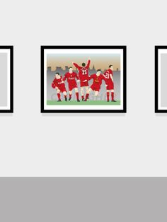 Jamie Carragher Liverpool FC Football Print by MarkMcKenny on Etsy, £10.50