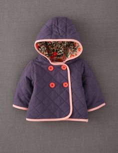 Quilted Jacket from Mini Boden - so cute!