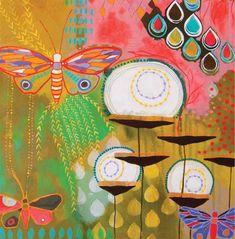 Mixed-media art ideas   Jessica Swift, ClothPaperScissors.com