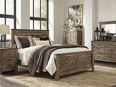 Trinell Queen Panel Bed #steinhafels