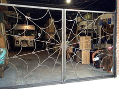 Spider Web Gates Garage Design, Fence Design, Door Design, Metal Art Projects, Welding Projects, Welding And Fabrication, Goth Home, Steel Gate, Gothic Furniture