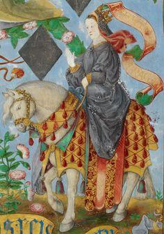 LA REINA DE ARAGÓN CONSTANZA HOHENSTAUFEN  JEAN DE HOLLANDE (GENEALOGIA DOS REIS DE PORTUGAL) C.1530