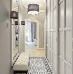 Ideas Upstairs Hallway Storage Ideas Entryway For 2019 Apartment Entryway, Entryway Decor, Apartment Ideas, Home Interior, Interior Design, Hallway Designs, Hallway Ideas, Upstairs Hallway, Dark Hallway