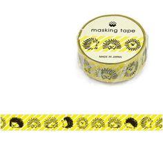 Hedgehog Washi Tape • Mind Wave Japanese Washi Tape