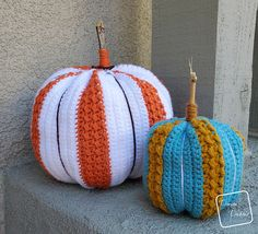 Ravelry: Simple Striped Pumpkin pattern by Divine Debris
