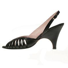 La garconne Nadine Negro Kitten Heels, Shoes, Fashion, Moda, Shoe, Shoes Outlet, Fashion Styles, Fashion Illustrations, Fashion Models