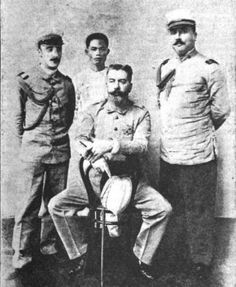 Diego de los Ríos, the last Spanish Governor-General of the Philippines. He became the governor on Aug. 13, 1898, with the capital at Iloilo on Panay Island, after Governor-General Fermin Jaudenes surrendered at Manila. His term ended on Dec. 10, 1898 when the Treaty of Paris was signed.People and Places: War of independence Against America, 1899-1902