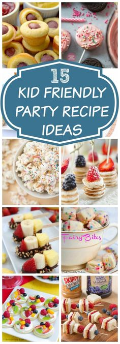 Toddler Birthday Party Finger Foods | Pretty My Party