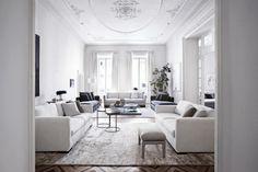 Great living room inspiration|Photo byDavide Lovattifor Italian interior brandMeridiani | via styleandcreate.com