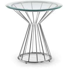 Coronet Glass and Steel Round Side Table El Diseno Coronet Glass and Steel Round Side Table El Diseno Side Tables sale Australia. Coronet Glass and Steel Round Side Table Decor, Table Decorations, Round Side Table, Home Decor Online, Online Furniture Stores, Living Styles, Chrome, Steel, Glass