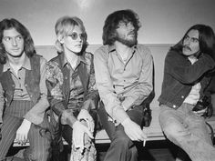 George Harrison with Eric Clapton and Delaney & Bonnie
