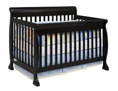 DaVinci Kalani 4-in-1 Convertible Crib with Toddler Rail, Ebony    http://www.babystoreshop.com/davinci-kalani-4-in-1-convertible-crib-with-toddler-rail-ebony-2/