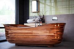 Here at The #Wooden_Bathroom, we offer a wide assortment of #Wood_Bathtubs and vessel sinks of the best quality at the prices that are reasonable.https://goo.gl/NbDHbb