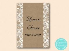 BS16-sign-love-is-sweet-take-a-treat-burlap-lace-bridal-shower-decor-sign