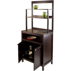 How perfect this would be in my dining room!  Jamie Buffet Hutch, Cappuccino