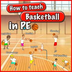 Basketball skills, games and activities for your PE lessons. Watch the 'how-to' videos for basketball passing, shooting, dribbling and more. Great for elementary school teachers Education How to teach basketball skills in PE Physical Education Activities, Elementary Physical Education, Elementary Pe, Pe Activities, Health And Physical Education, Movement Activities, Nutrition Activities, Nutrition Guide, Child Nutrition