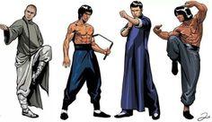 ~Kung Fu Movie Heroes~ Jet Li | Bruce Lee | Donnie Yen | Jackie Chan... what about Sammo Hung, Dick Wei, Yuen Bao, Yuen Wah, Hwang Jang Lee to name a few... XD