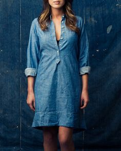 Clyde Chambray by Imogene & Willie    #dreamindenim