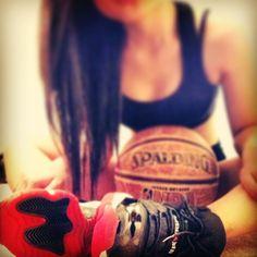 """Air Jordan 11 """"Bred"""" bad chicks rock kicks too."""