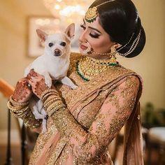 This @taruntahiliani bride shares her spotlight with her doggo ! If this isn't melting hearts, I don't know what is!  .  .  @aaamovies  .  .  #weddingzin #wedding #weddingphoto #weddingplanner #weddingdress #wedding #weddinggoals #weddinginspo #weddingphotography  #indianbride #instalike #instalove #instawedding