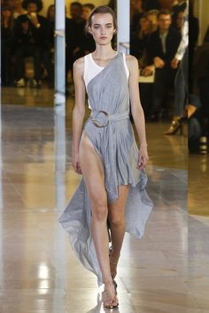 Anthony Vaccarello Spring 2016 Ready-to-Wear Fashion Show - Maartje Verhoef (Women)