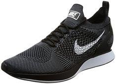 new style 95d71 81c11 Nike Men Air Zoom Mariah Flyknit Racer black whitedark grey Size 115 US