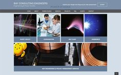 Bay Consultant Engineers website by Two Hats Consulting, Branding and Website Design for Engineering, BioTech and more - visit twohatsconsulting.com to learn more!