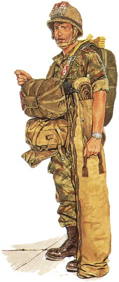 Recon Paratrooper, Sayeret Tzanhanim, 1964
