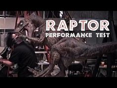 JURASSIC PARK - Raptor Puppet Attack Test - Behind the scenes at Stan Winston Studio