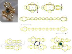 D..I.Y - Emerald Pearl Ring Pattern featured in Bead-Patterns.com Newsletter!