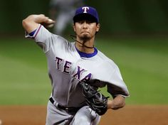 Cy Young finalist Yu Darvish shows progress, but can the Rangers ace pitcher win? Rangers Top, Texas Rangers, Perfect Game, Almost Perfect, Sports Baseball, Baseball Games, High School Football, College Football, Marwin Gonzalez