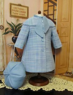 KeepersDollyDuds 1930's Spring Coat and Six sided Tam, An Original Keepers Design | Flickr - Photo Sharing!