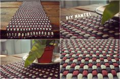 Mantel de trapillo - T-shirt yarn rug [DIY]. Tutorial en Tuteate. #trapillo #DIY