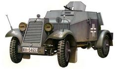 This is the Scale German Adler Armored Car Plastic Model Kit by Bronco Models. Model Building, Building Toys, Plastic Model Kits, Plastic Models, Armored Vehicles, Armored Car, Automobile, Motorcycle Manufacturers, Triumph