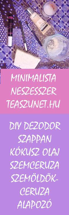 #minimalista Minimalista neszesszer, saját készítésű dezodor