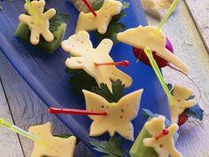 Lustige Käsespießchen | http://eatsmarter.de/rezepte/lustige-kaesespiesschen