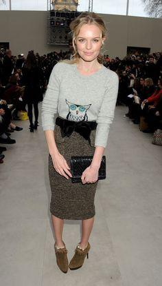 Rosie Huntington-Whiteley Kate Bosworth Burberry Pictures | POPSUGAR Celebrity