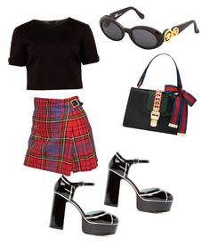Untitled #187 by whatscooljay on Polyvore featuring polyvore, fashion, style, Ted Baker, Vivienne Westwood, Marc Jacobs, Gucci, Versace and clothing
