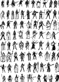 Thumbnails - Anything quite small or brief, as a small drawing or short essay. Game Character Design, Fantasy Character Design, Character Design References, Character Design Inspiration, Character Concept, Character Art, Green Characters, Design Theory, Game Concept Art
